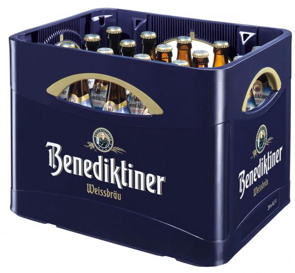 Benediktiner Weißbier alkoholfrei - 20 X 0,5