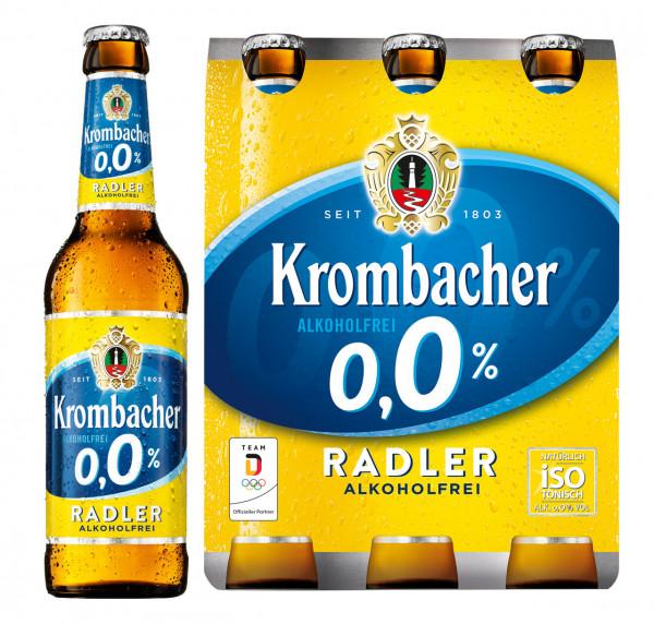 Krombacher 0,0% Radler alkoholfrei 6 X 0,33