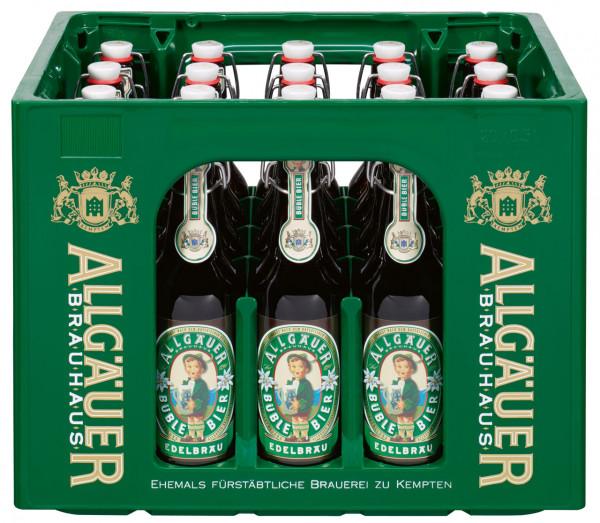 Allgäuer Büble-Bier Edelbräu BGV - 20 X 0,5