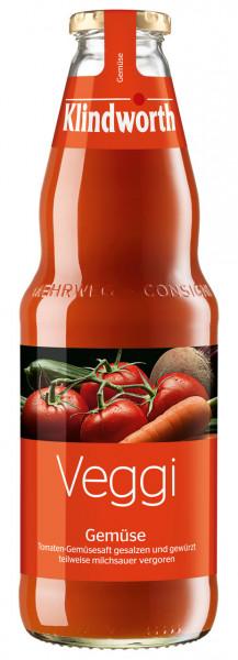 Klindworth VEGGI Gemüsesaft - 6 X 1