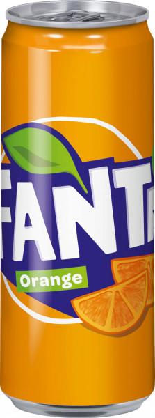 Fanta Orange Sleek Can DS-P EW 0,33
