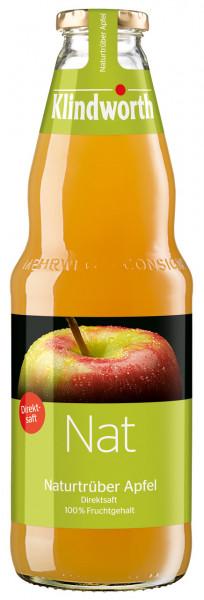 Klindworth NAT Apfelsaft Trüb - 6 X 1