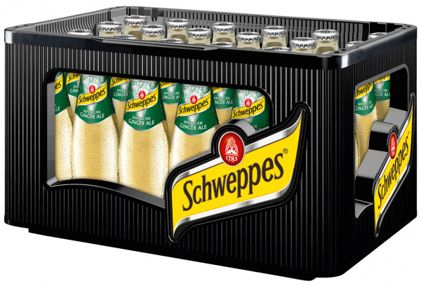 Schweppes Ginger Ale - 24 X 0,2