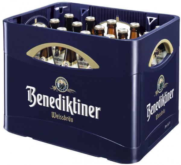 Benediktiner Weißbier Naturtrüb - 20 X 0,5