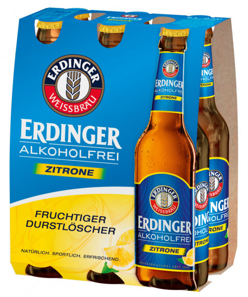 Erdinger Alkoholfrei Zitrone 6 X 0,33