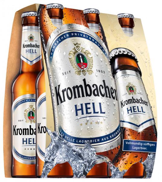 Krombacher Hell 6 X 0,33