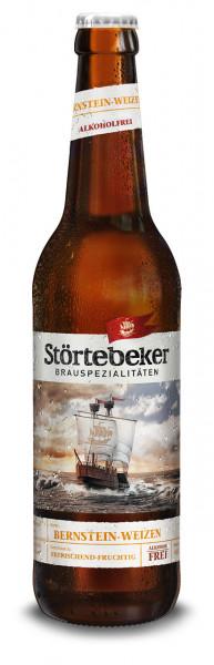 Störtebeker Bio Bernstein Weizen alkoholfrei - 20 X 0,5