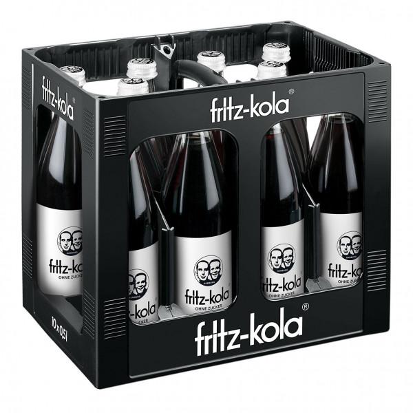 Fritz Kola zuckerfrei - 10 X 0,5