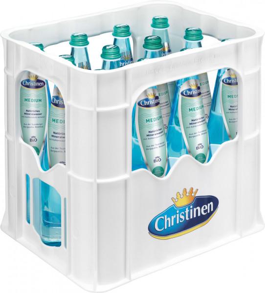 Christinen BIO Medium Blauglas - 12 X 0,75