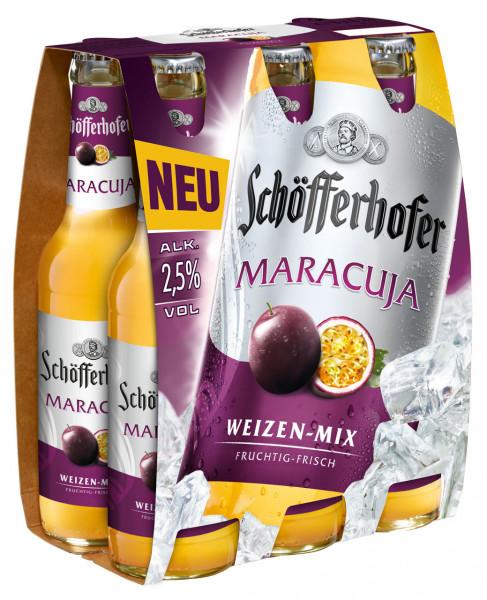 Schöfferhofer Maracuja Weizen-Mix 6 X 0,33