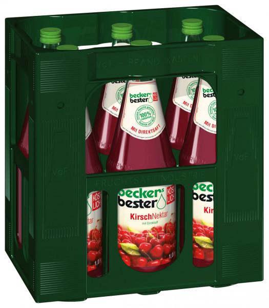 Becker´s Kirsch Fruchtsaftgetränk - 6 X 1