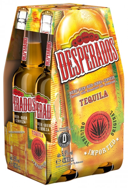 Desperados Original 4 X 0,33