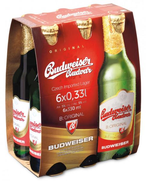 Budweiser 6 X 0,33