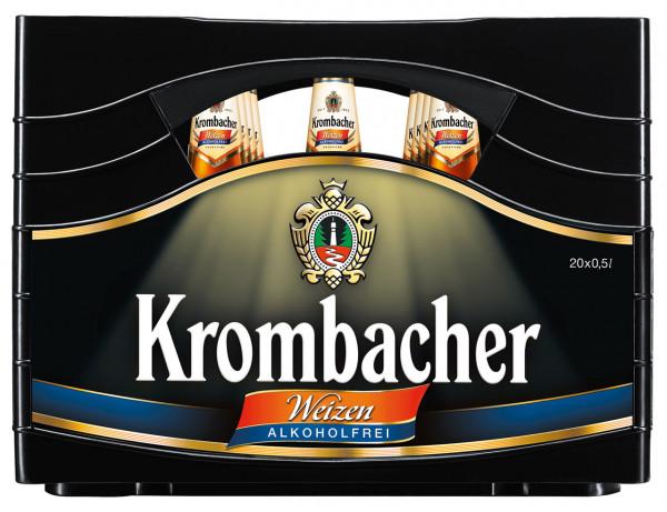 Krombacher Weizen alkoholfrei - 20 X 0,5