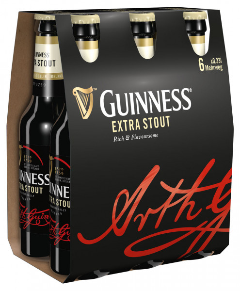 Guinness Extra Stout 6 X 0,33