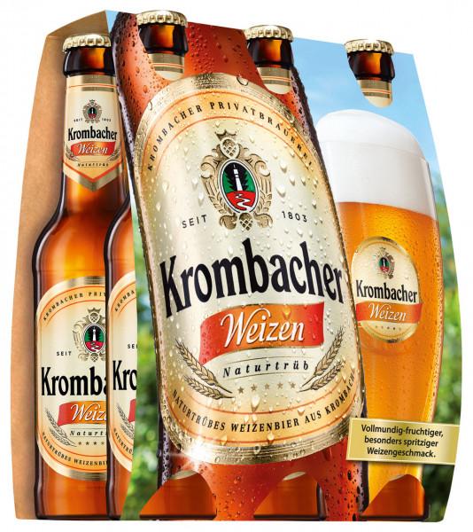 Krombacher Weizen 6 X 0,33
