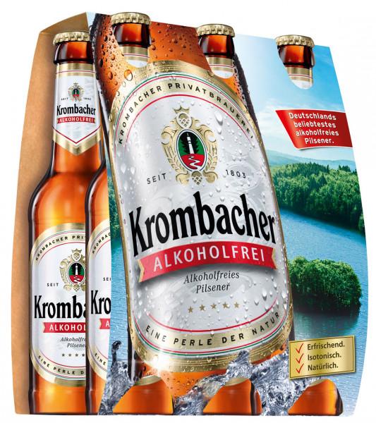 Krombacher alkoholfrei 6 X 0,33