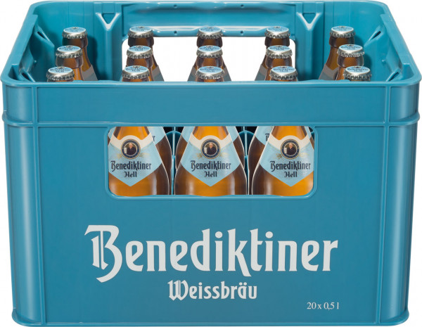Benediktiner hell - 20 X 0,5