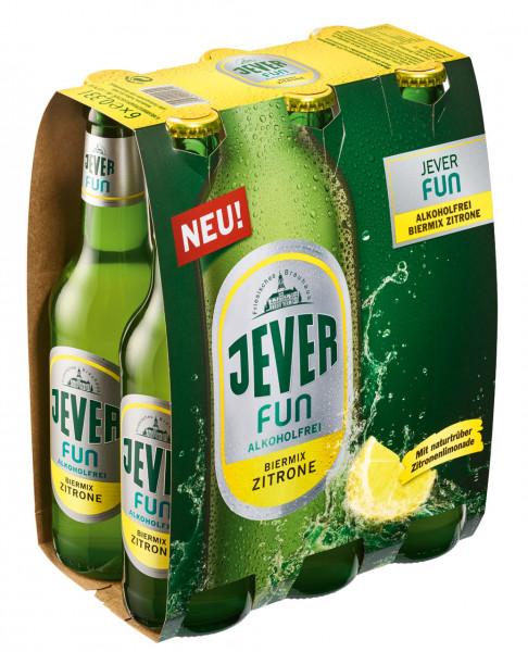Jever Fun Zitrone 6 X 0,33