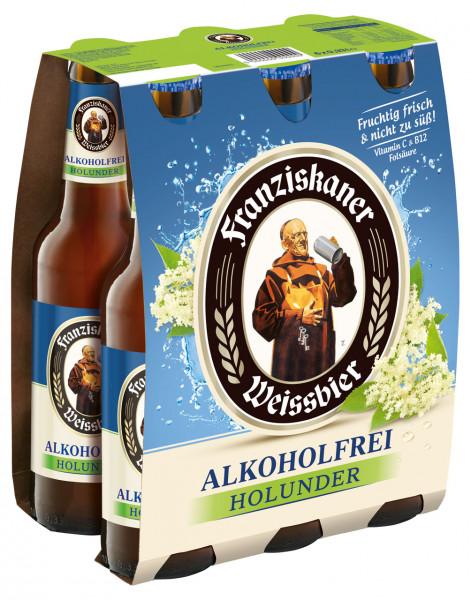 Franziskaner Alkoholfrei Holunder 6 X 0,33