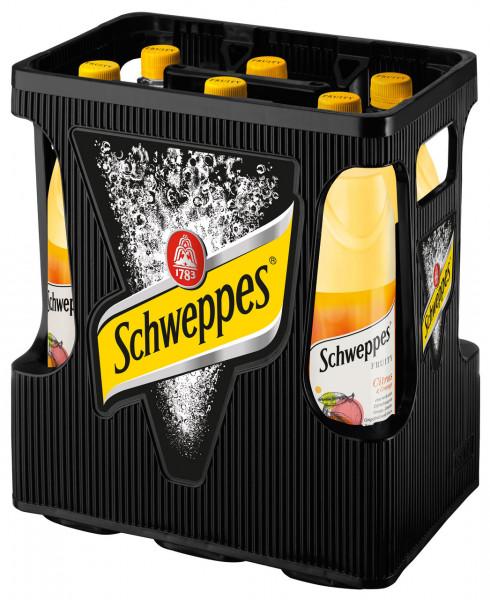 Schweppes Fruity Citr&Ora PET - 6 X 1