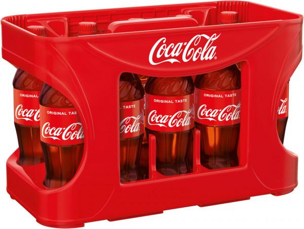 Coca Cola DPG in der Kiste - 12 X 0,5