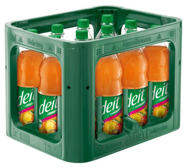 Deit Tropische Früchte PET Vilsa 12x1,0l - 12 X 1